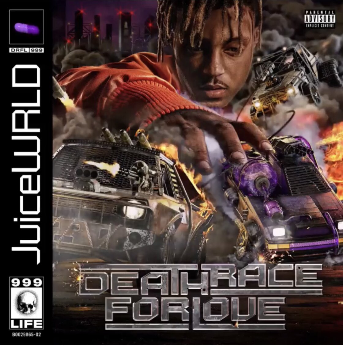 Juice WRLD Is In A 'Death Race For Love' On New Album – TOO LEJIT